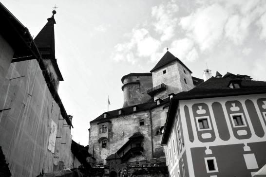 Rencontre avec Dracula... ou plutot le chateau d'Orava. Endroit du tournage du premier Dracula en 1922