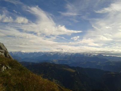 Le Mt Blanc au fond